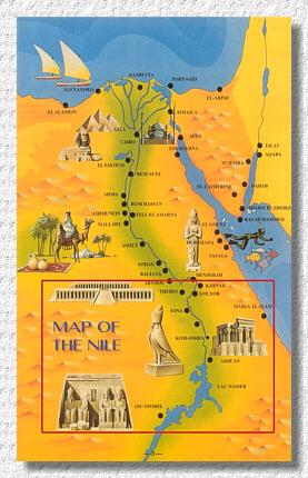 Karte ägypten Nil.ägypten Reisebericht Nilkreuzfahrt Urlaub