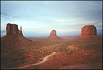 Monument Valley - send as a greeting card